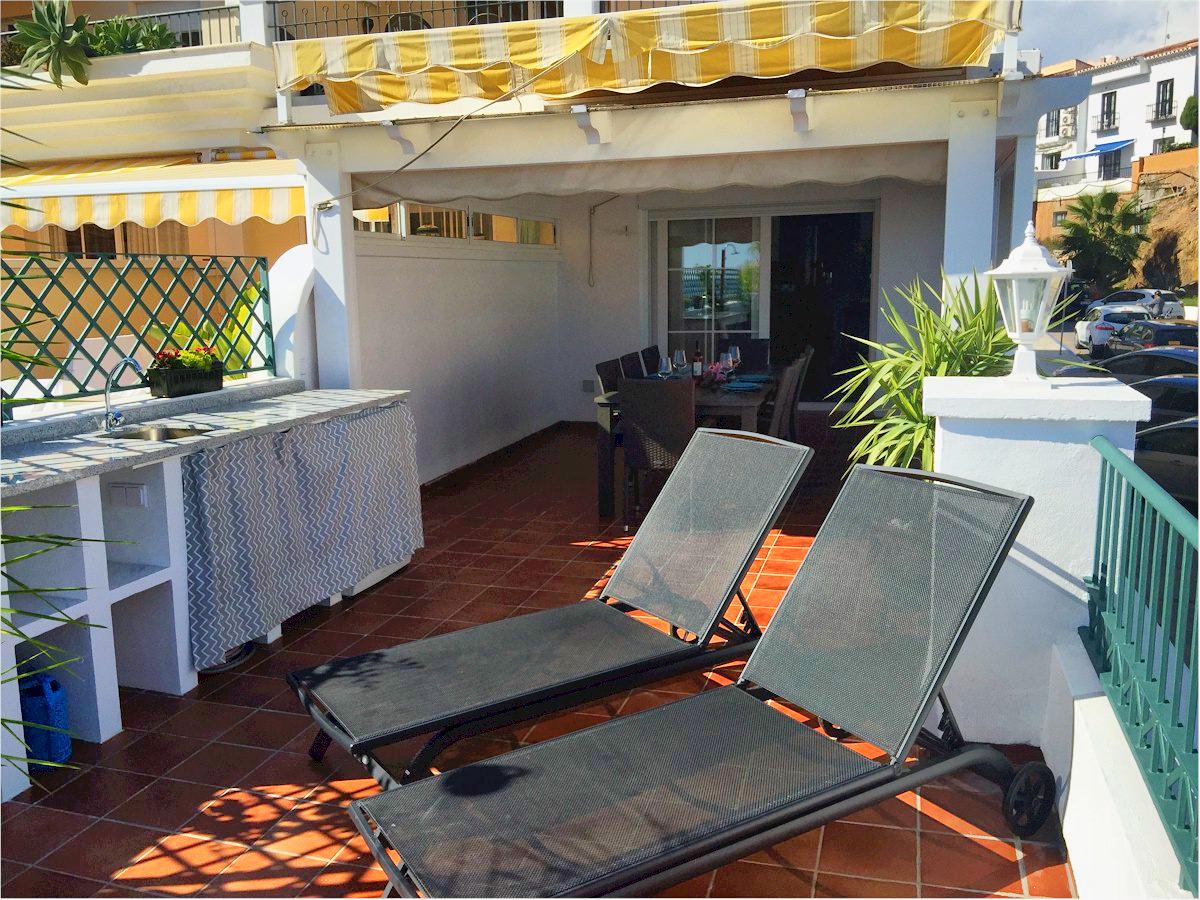 TSR0149 Nerja Frontline Burriana beach apartments Self ...