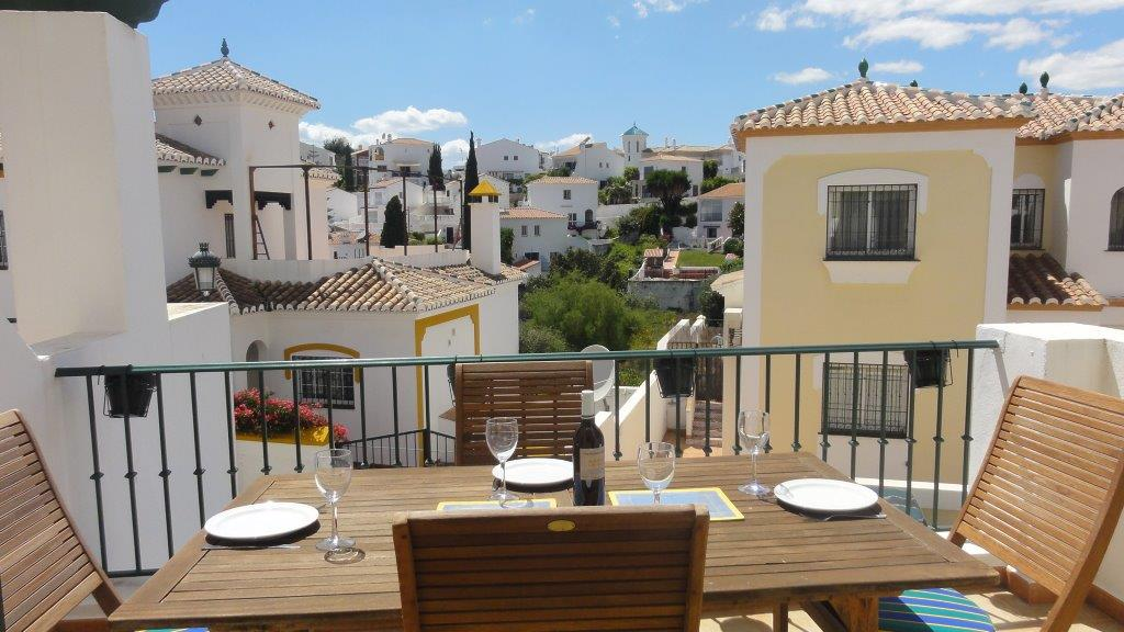 TSR0284 Burriana Area townhouse Nerja